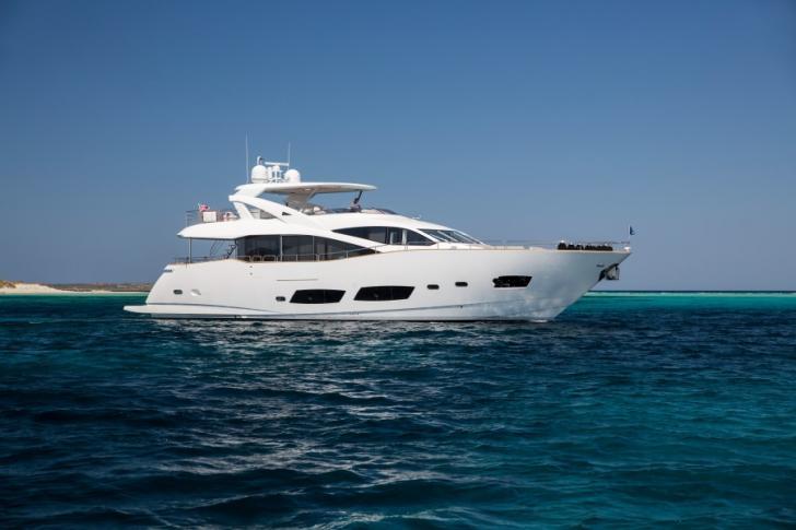 Mallorca, crewed motor yacht