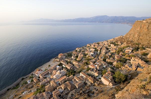 Monemvasia, Greece --- Image by © Franck Guiziou/Hemis/Corbis