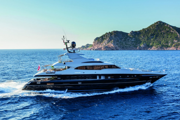 M/Y NAMELESS - majestic and easily recognisable while cruising