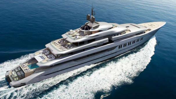 Primadonna Oceanco Superyacht