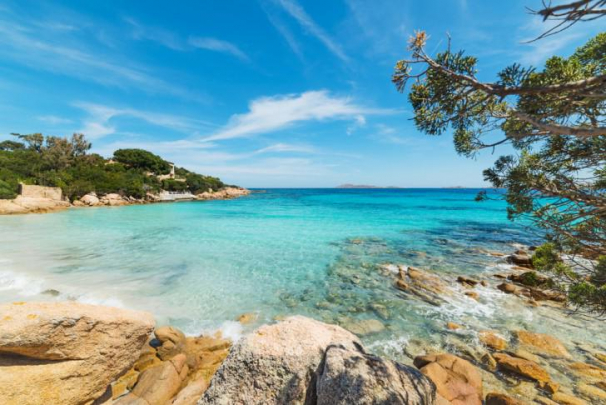 Cala Spalmatore, La Maddalena, Sardinia - Luxury Yacht Charter