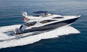 hire one od the sunseekers predators along the amalfi coast