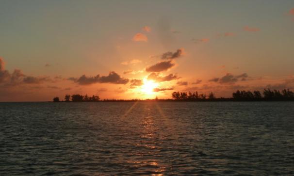 Sunset on Anegada