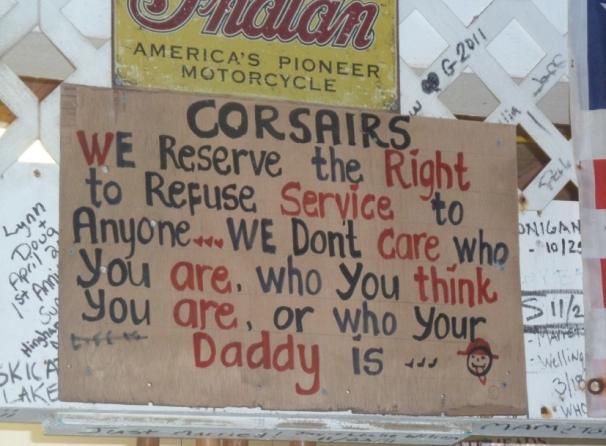 Local Wisdom at Corsairs