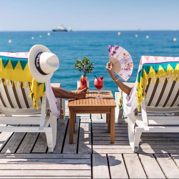 Bâoli Beach, Cannes
