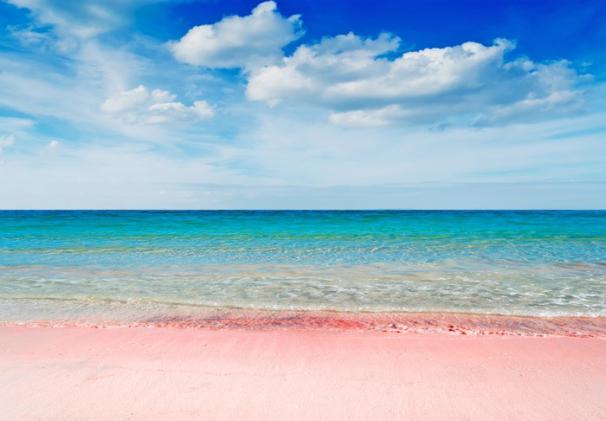 Spiaggia Rosa Pink Beach in Sardinia
