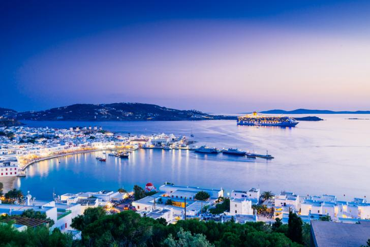 Mykonos Day Charter Itinerary
