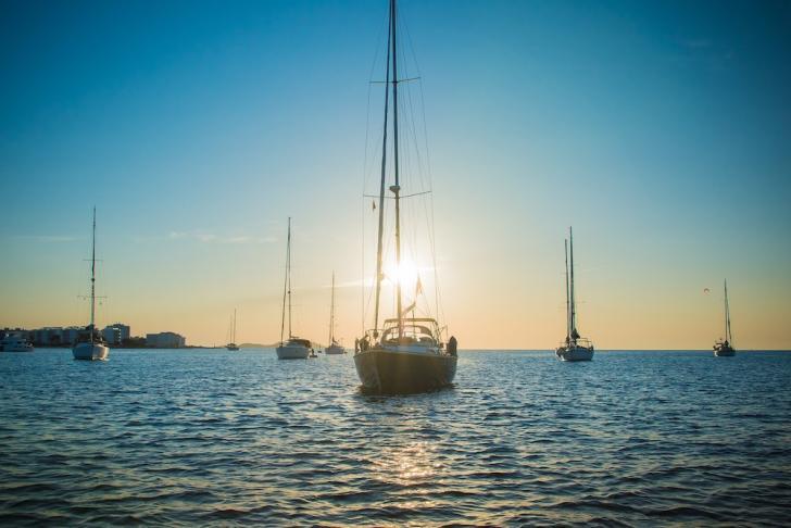ibiza yacht charter, ibiza crewed catamaran