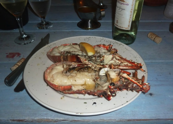 Enjoy Lobster at Anegada