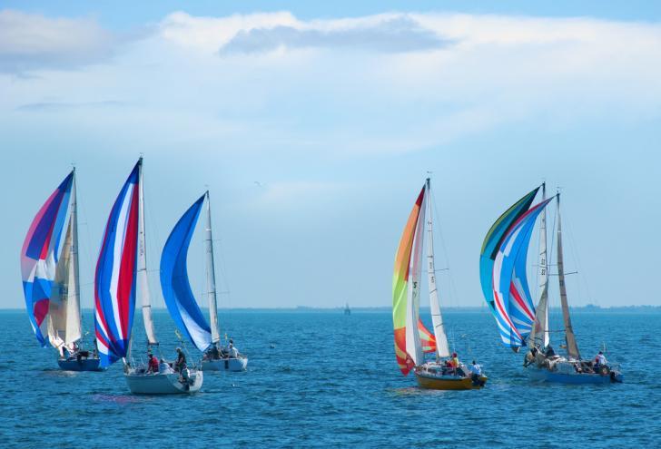 regatta, sailboat race, cowes, sailing event