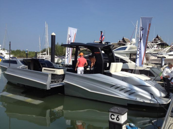 Wider 42 Yacht at PIMEX 2014!