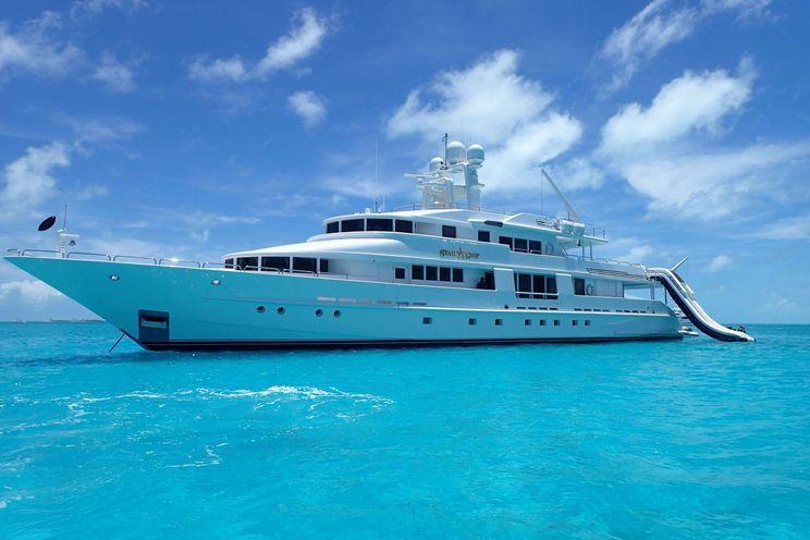 Charter Yacht STARSHIP - Van Mill 43m - 5 Cabins - Nassau - Staniel Cay - Bahamas