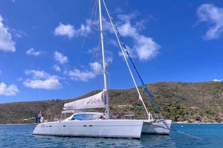 Charter Yacht VISION - Lagoon 57 - 4 Cabins - Nanny Cay Tortola - Beef Island - Virgin Gorda