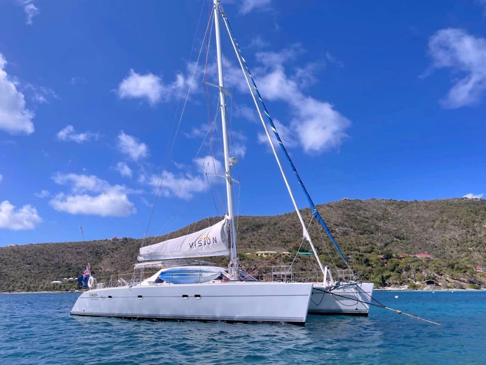 VISION - Lagoon 57 - 4 Cabins - Nanny Cay Tortola - Beef Island - Virgin Gorda