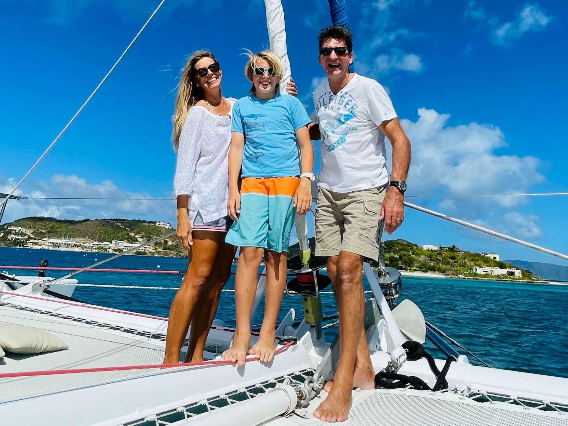 Charly & Carolina  - Captain & Chef &