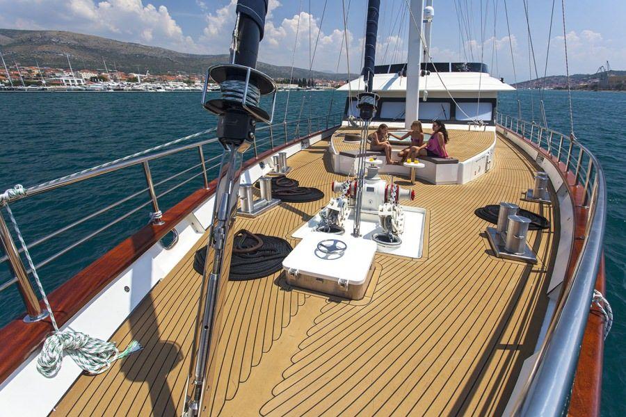 Top deck plan