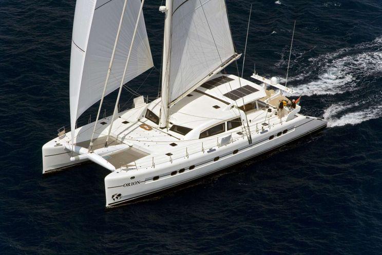 Charter Yacht ORION - Catana 90 - 4 Cabins - St Martin - St Barths - Anguilla