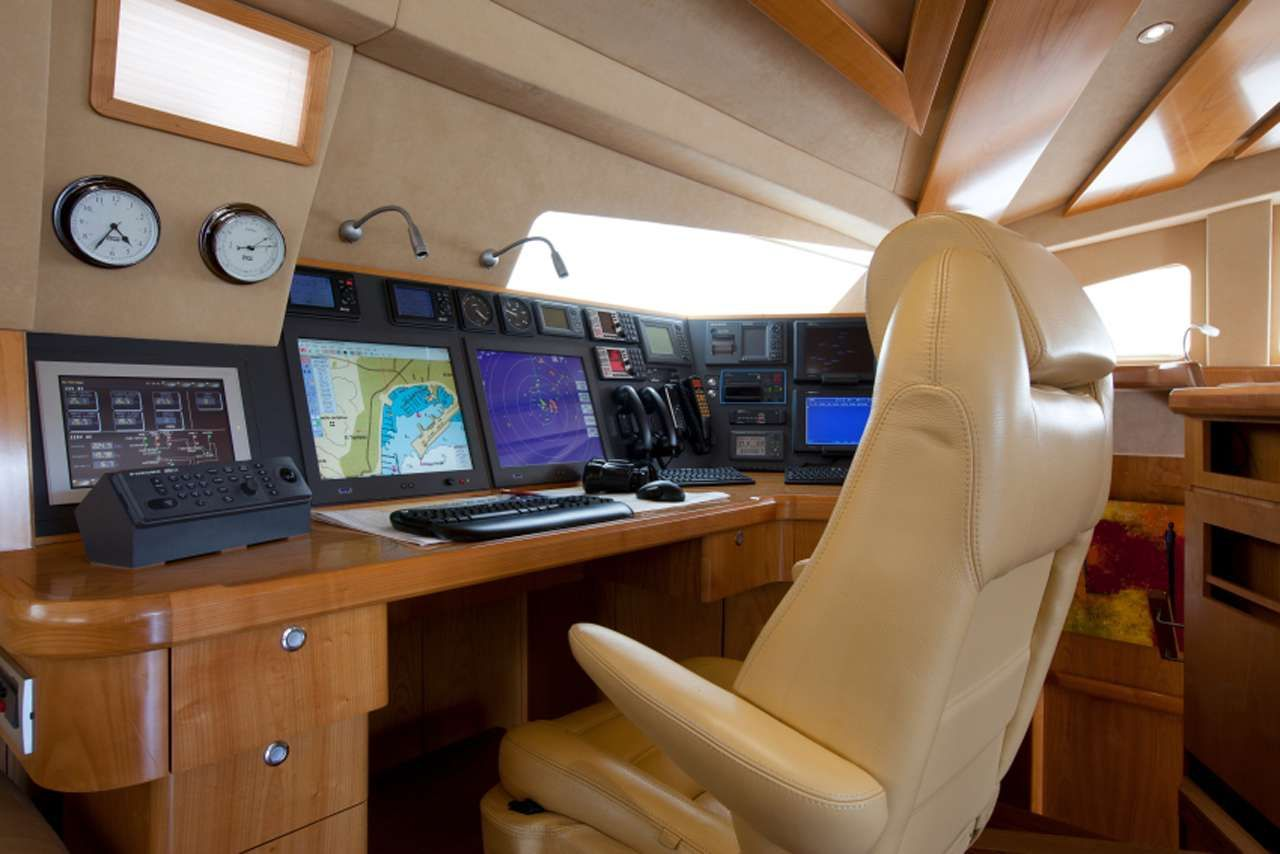 ORION Catana 90 Navigation area