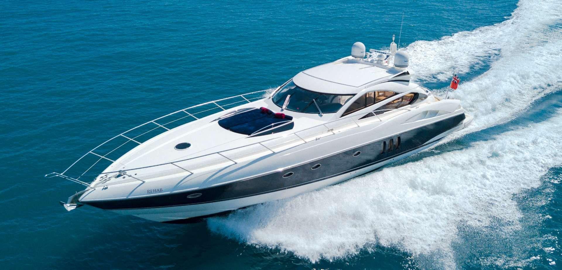 REHAB - Sunseeker Predator 68 - 2 Cabins - Antibes - Cannes - St Tropez - Monaco