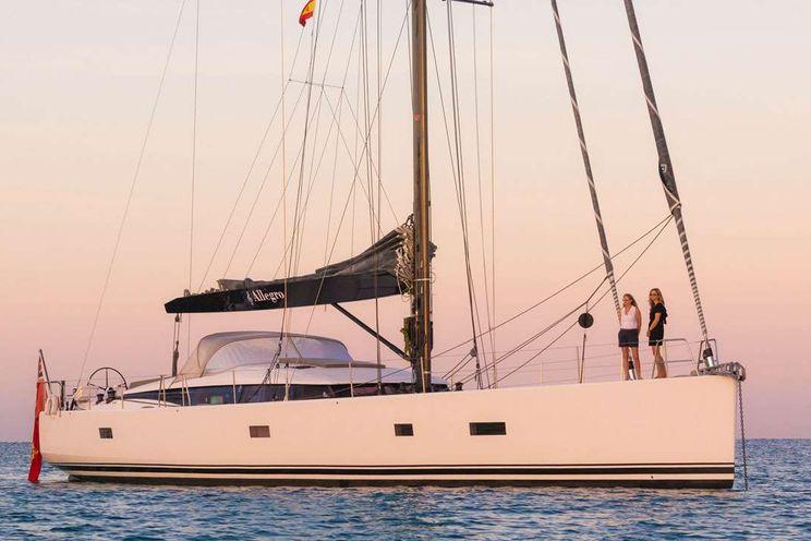 Charter Yacht ALLEGRO 76 - 3 Cabins - Caribbean Islands - Antigua - West Med - Balearics - French Riviera - Sardinia - Corsica - Leeward Islands - Dubrovnik - Sardinia
