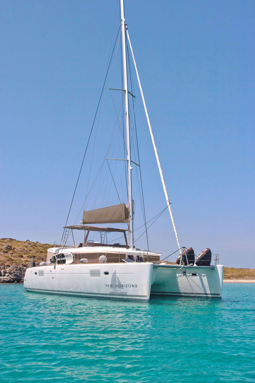 NEW HORIZONS - Lagoon 450 - 4 Cabins - Athens - Mykonos - Lefkas