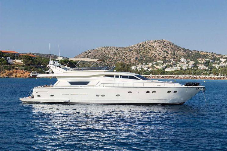 Charter Yacht VENTO - Ferretti 79 - 4 cabins - Athens - Mykonos - Zakynthos