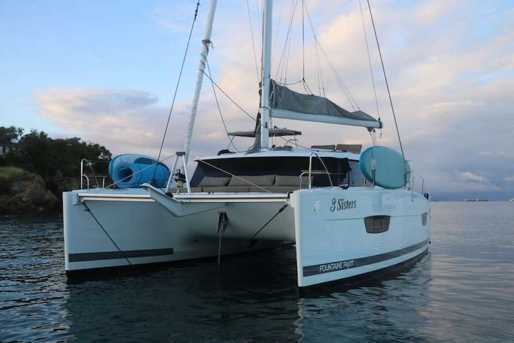 Charter Yacht 3 SISTERS - Fountaine Pajot Lucia 40 - 2 Cabins - St Thomas - St John - St Croix