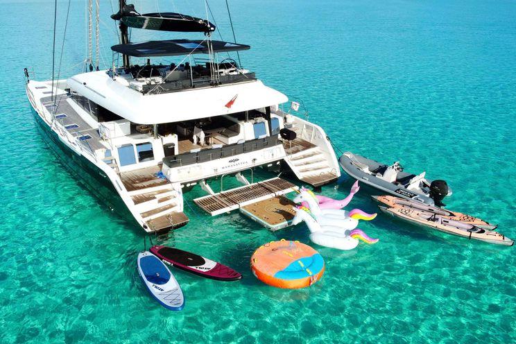Charter Yacht MAHASATTVA - Lagoon 620 - 4 Cabins - St Thomas - St John - Virgin Islands.