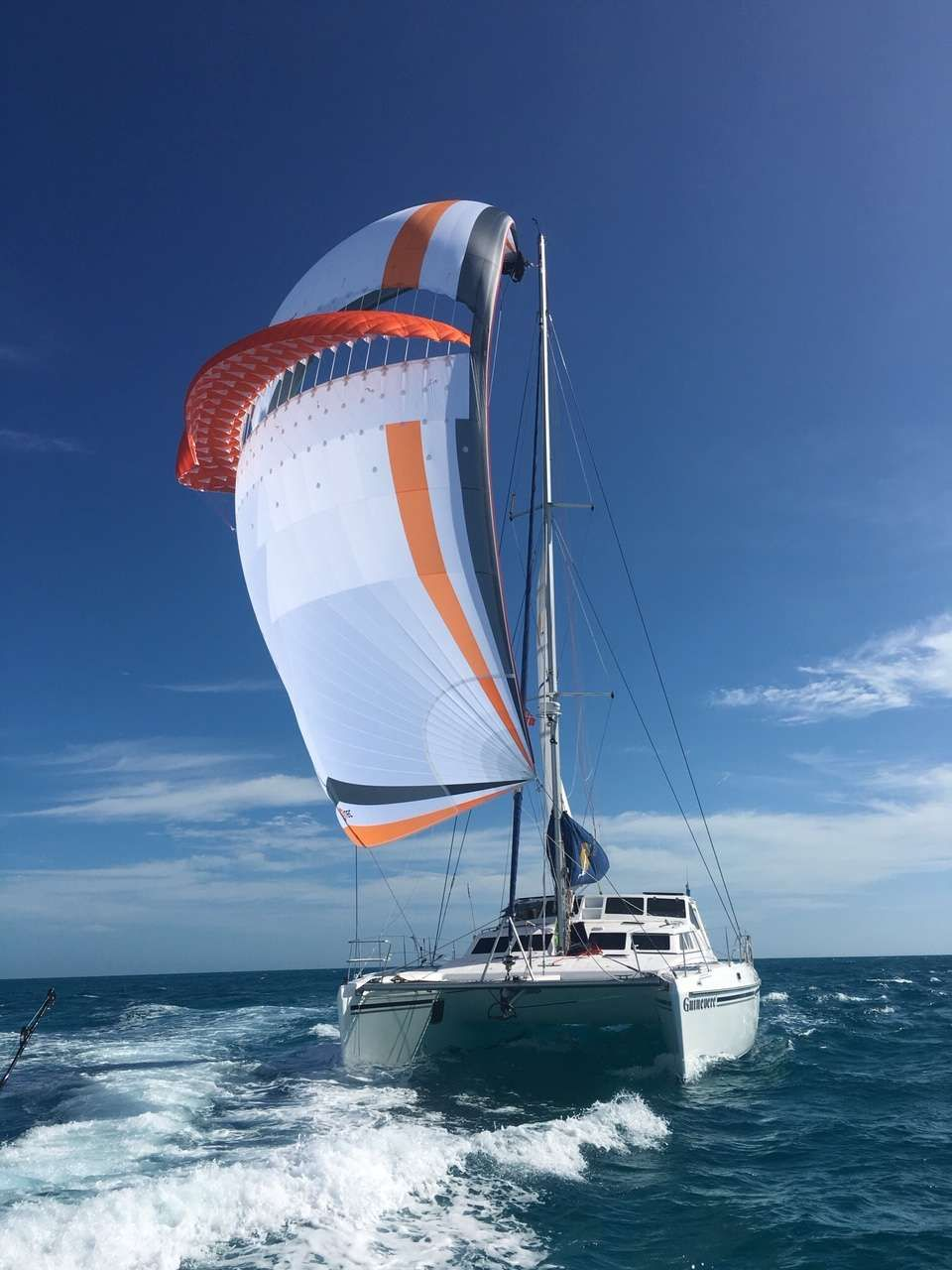 Thrilling Sailing on Guinevere!