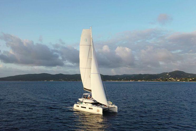 Charter Yacht DELANA MAE - Lagoon 50 - 4 Cabins - St Thomas - St John - Virgin Islands