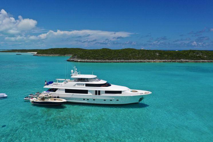 Charter Yacht INDIGO - Westport 112 - 4 Staterooms - Nassau - Tortola - Miami - Ft Lauderdale - Newport