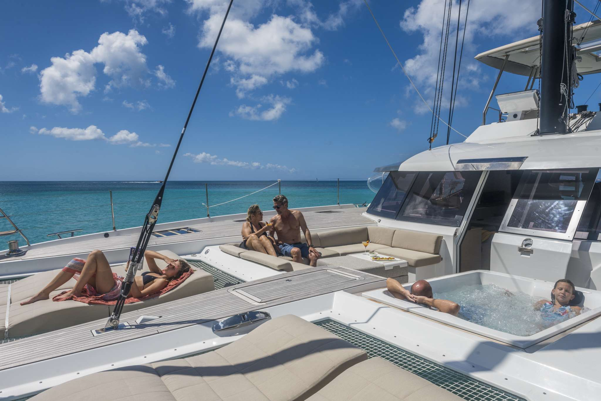 Foredeck / Jacuzzi