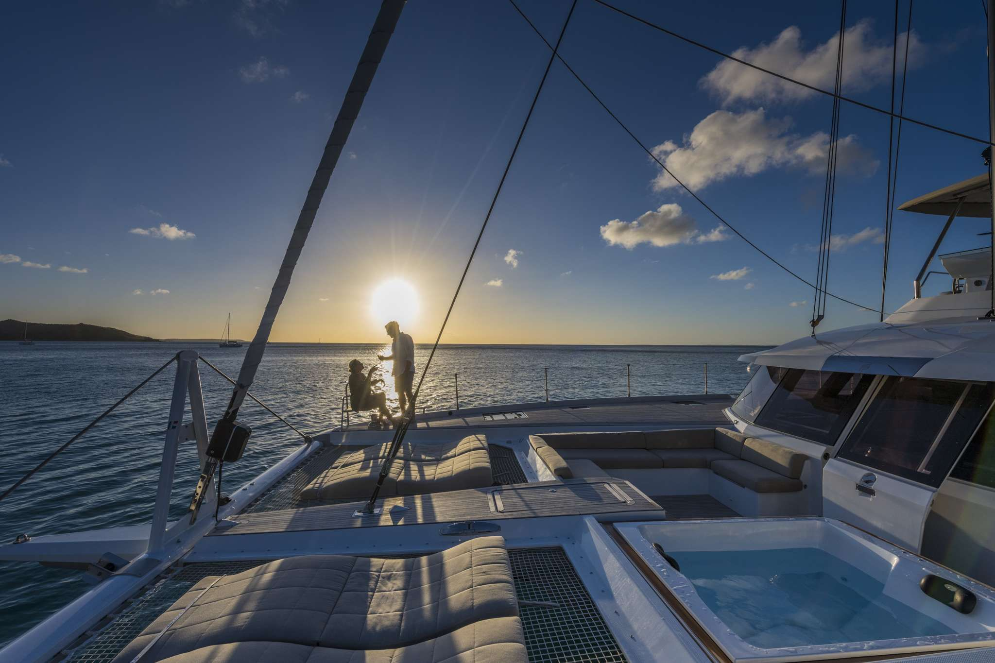 Lifestyle - Cocktail on Foredeck