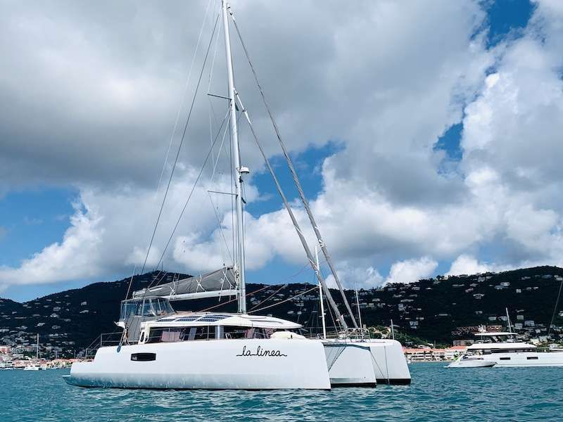 LA LINEA - NEEL 51 Trimaran - 3 cabins - St Thomas - Virgin Islands - Grenadines