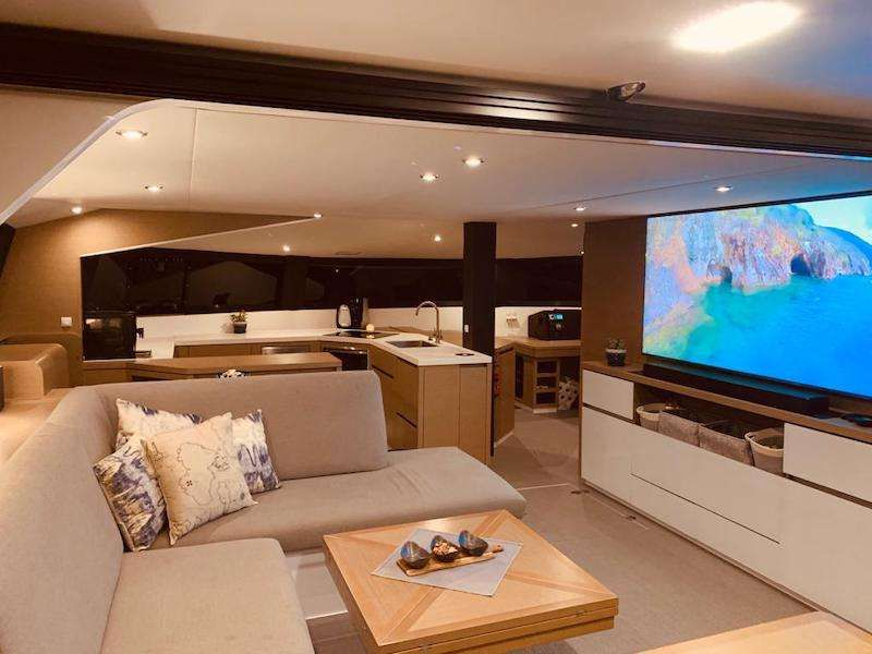 saloon: contemporary design throughout with generous living areas.