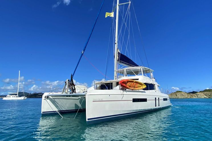 Charter Yacht TOUCH THE SKY - Leopard 58 - 5 Cabins - Tortola - St Thomas - St John - Virgin Gorda - Anegada