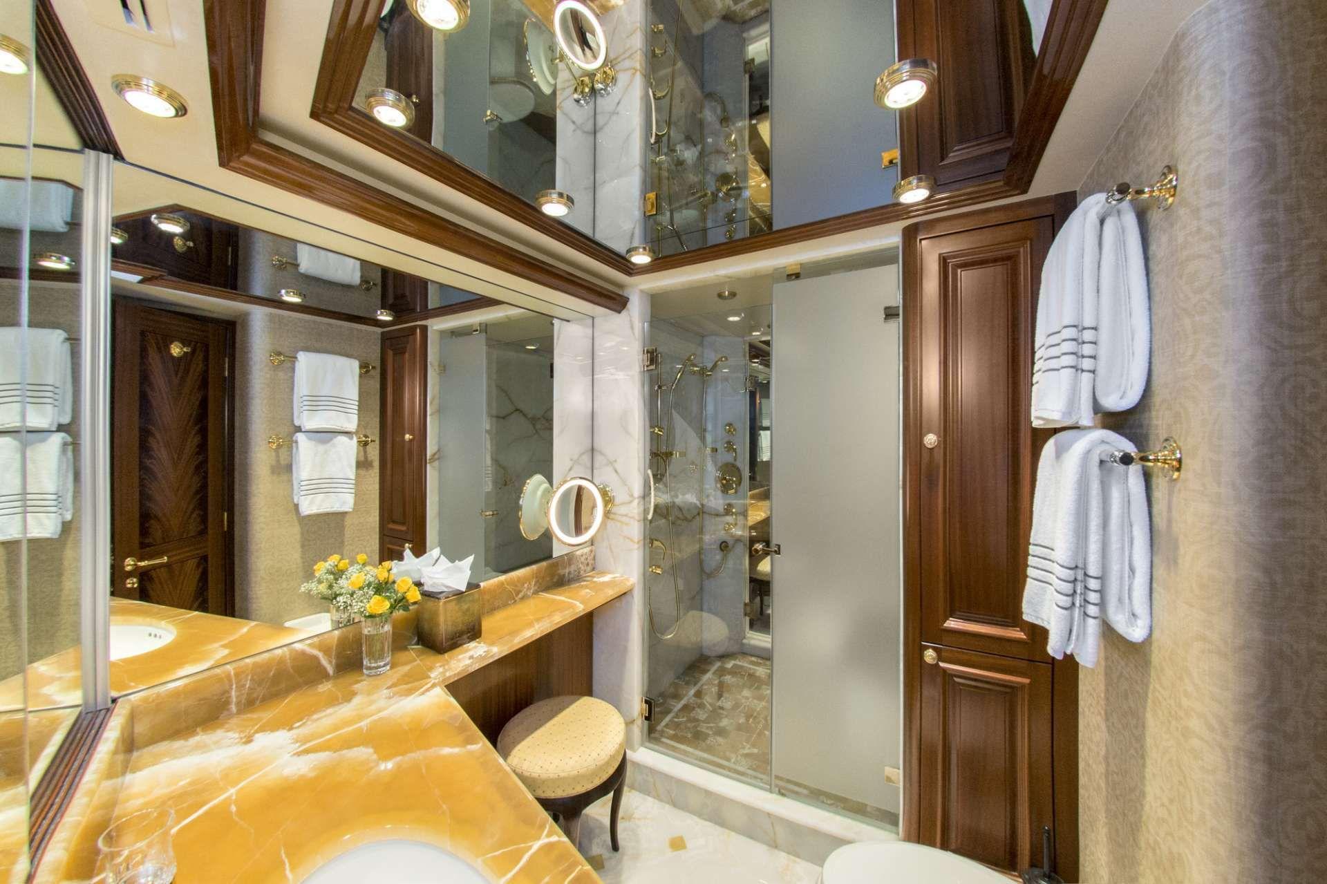 Master Stateroom Bathroom