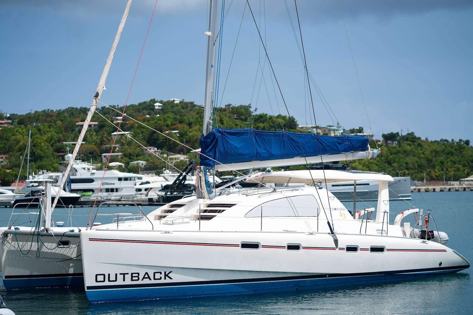 OUTBACK - Leopard 43 - 3 Cabins - Virgin Islands - St Thomas - Tortola - Virgin Gorda - St John