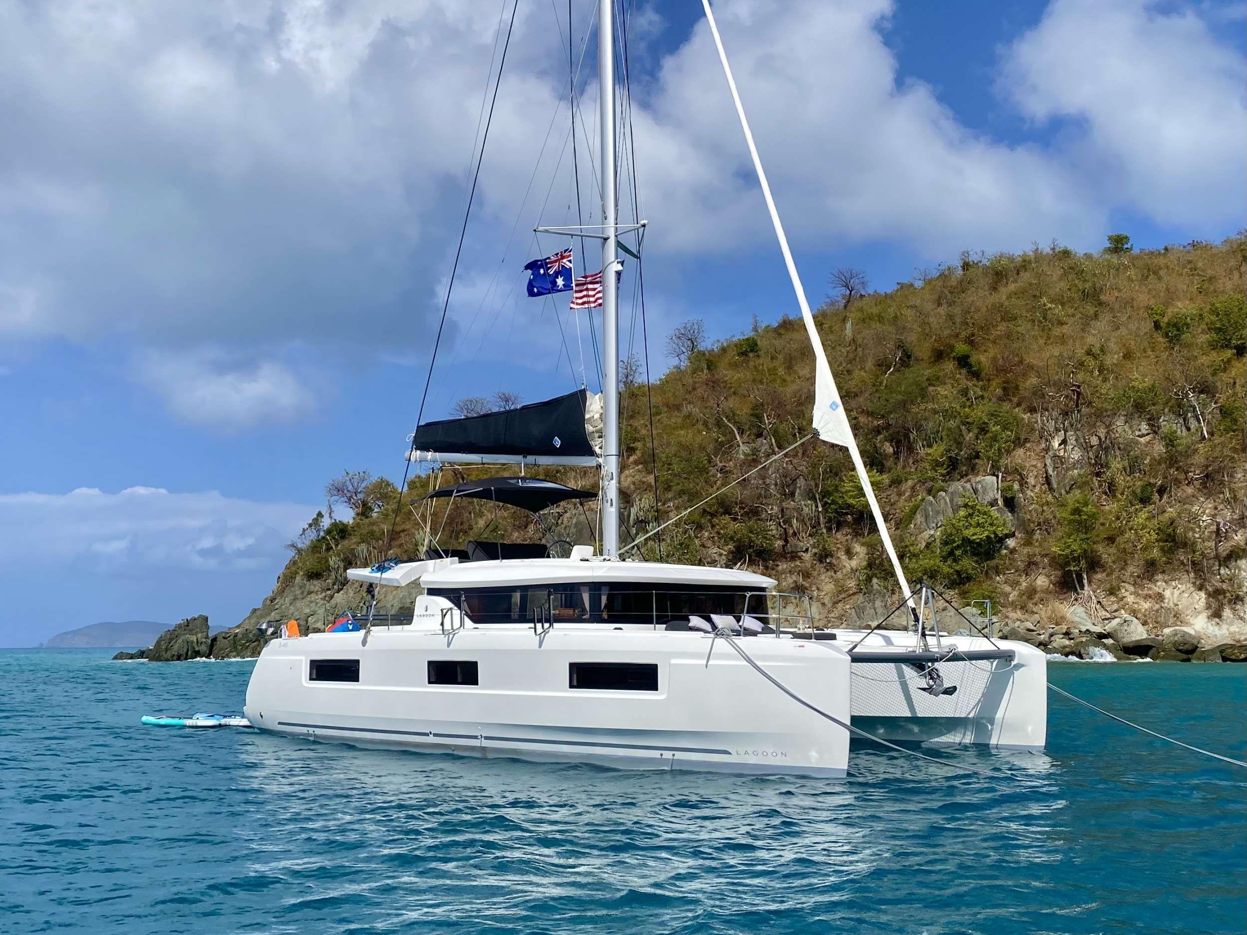 EASIR II - Lagoon 46 - 3 Cabins - Tortola - St Thomas - St John - Virgin Gorda - Anegada