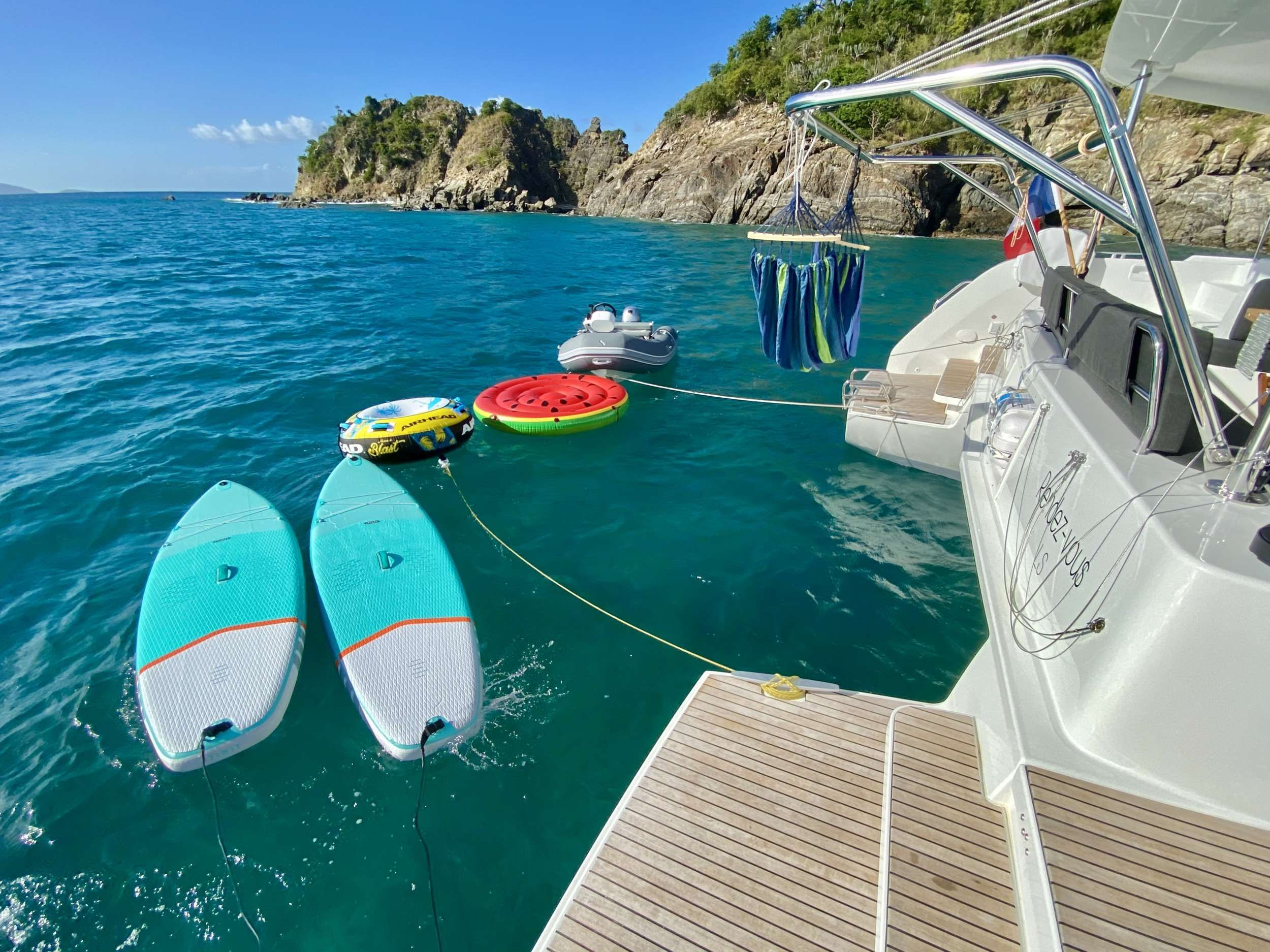 RENDEZ-VOUS Lagoon 46 Water Toys
