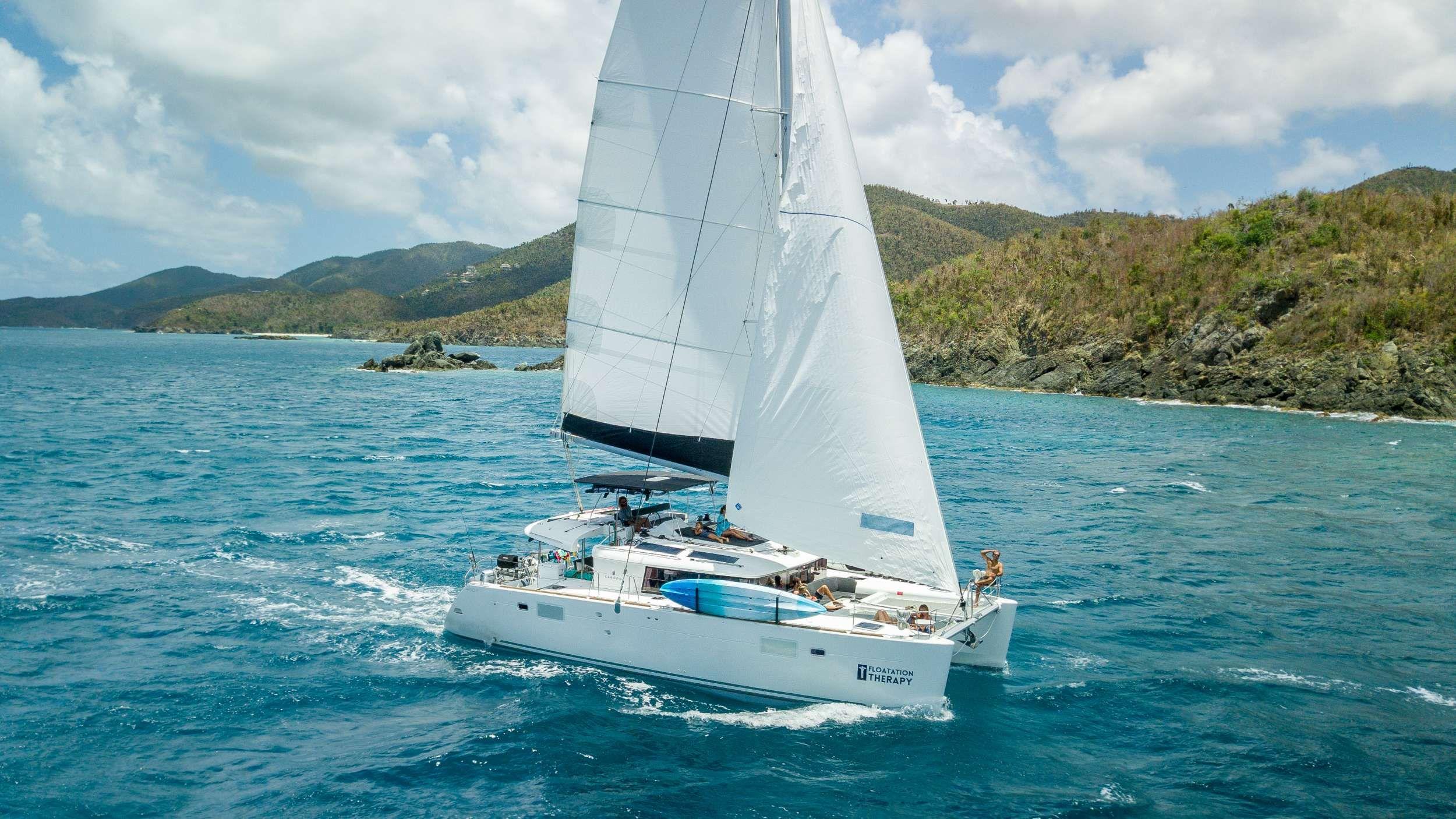 FLOATATION THERAPY - Lagoon 45 - 3 Cabins - St Thomas - Tortola - Virgin Gorda