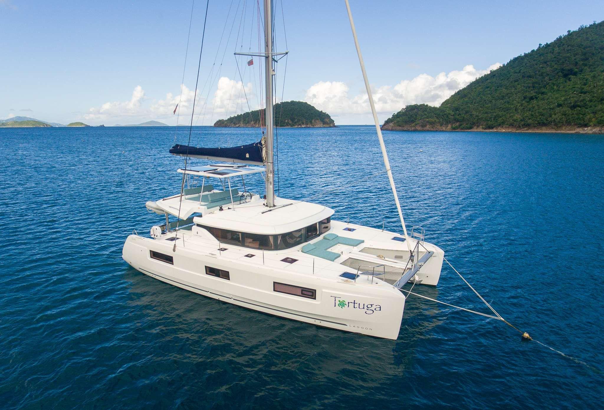 TORTUGA - Lagoon 46 - 3 Cabins - Virgin Islands