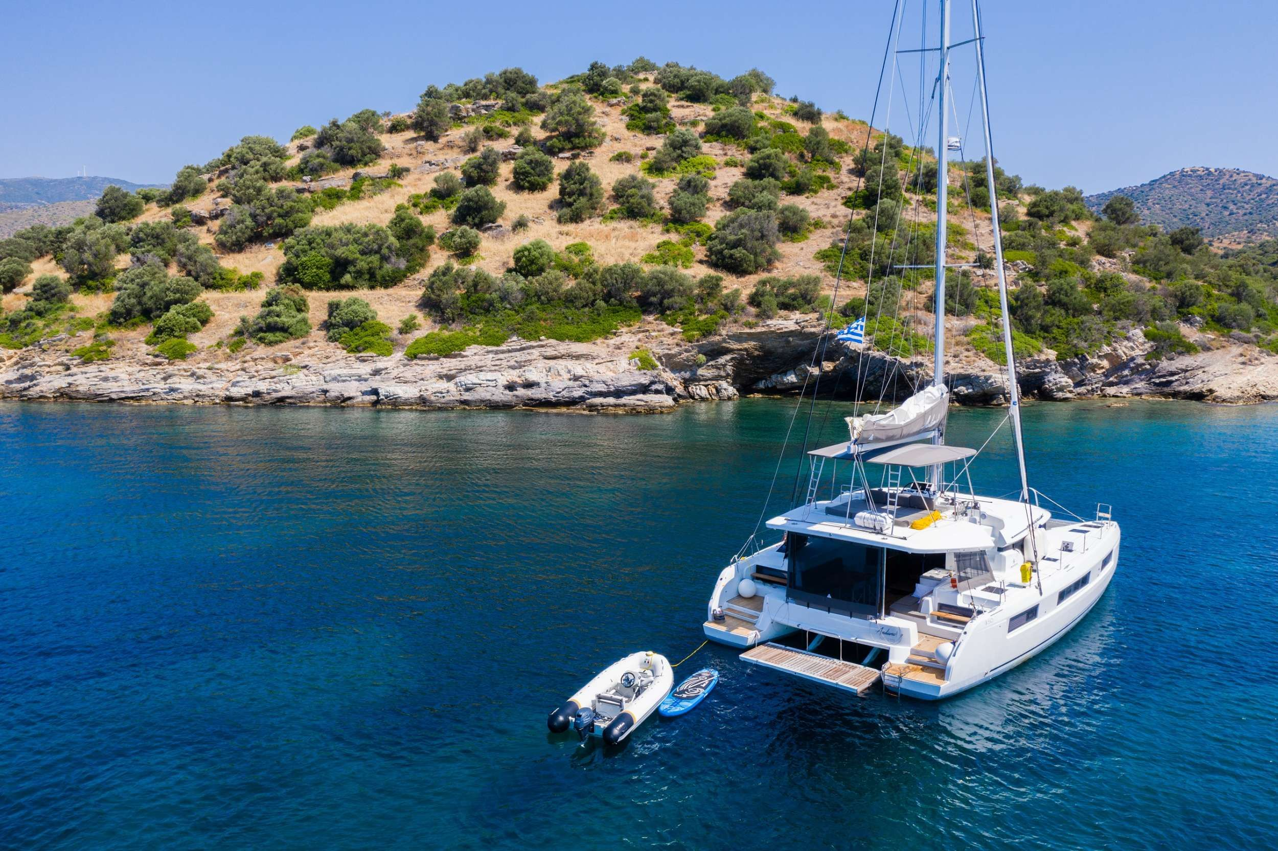 ANDIAMO - Lagoon 50 - 5 Cabins - Athens - Mykonos - Santorini - Paros