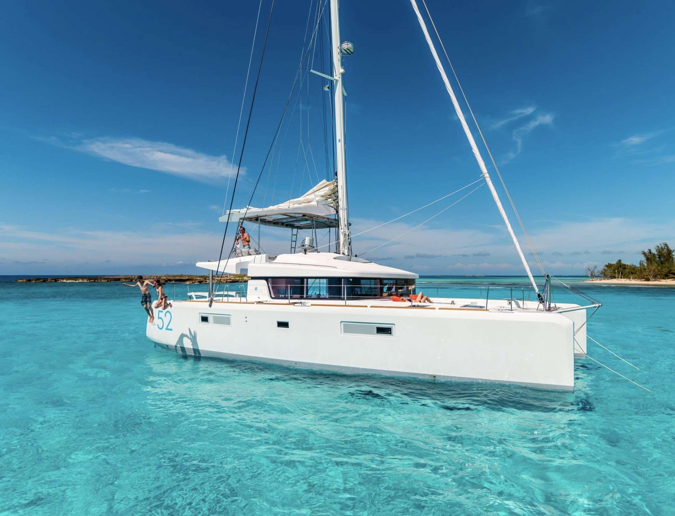 LIQUID ZEN  - Lagoon 52 - 4 Cabins - Virgin Islands