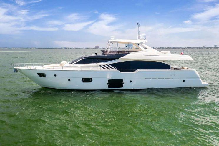 Charter Yacht SEA ERA - Ferretti 870 - 4 Cabins - Bahamas