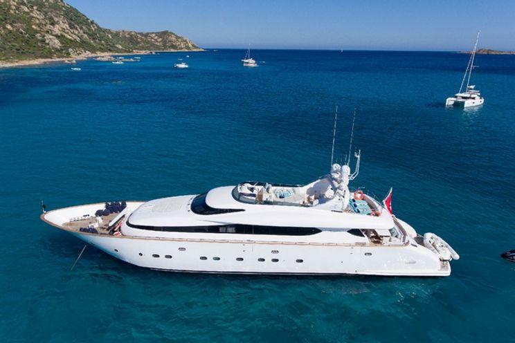 Charter Yacht AMAYA - Maiora 32 DP Fly - Poltu Quato - Porto Cervo - Porto Rotondo