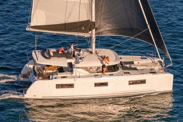 Charter Yacht CELAVIE - Lagoon 46 - 3 cabins - St Thomas - Tortola