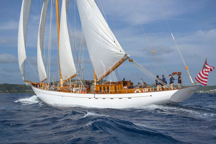 Charter Yacht EROS - 35m Staystill Schooner - 4 Cabins - New England - Newport,RI - Caribbean - BVIs