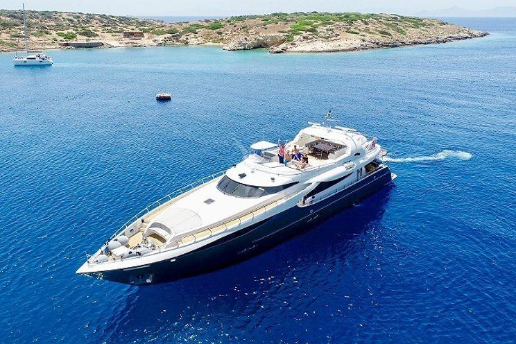 Charter Yacht SANJANA - Leight Notika 32m  - 4 Cabins - Athens - Mykonos - Kos - Lefkas - Paros