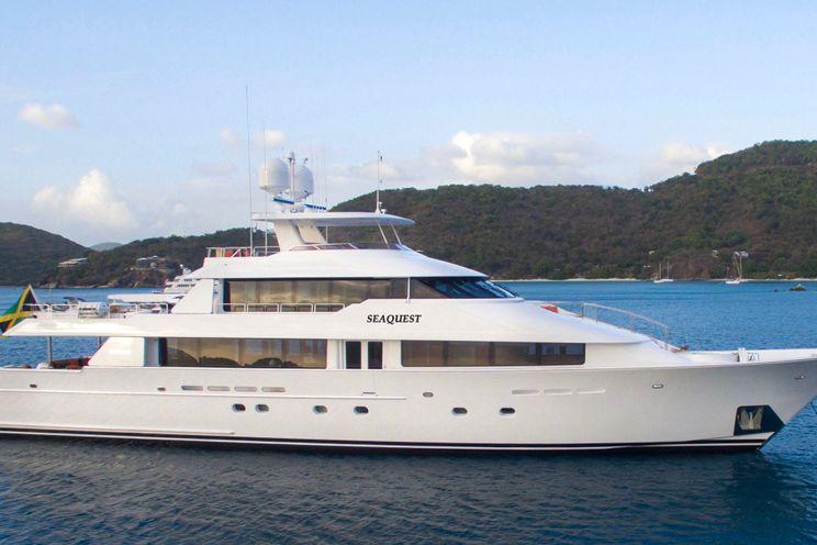 Charter Yacht SEAQUEST - Westport 130 - 5 Cabins - Bahamas - Leeward Islands - Caribbean